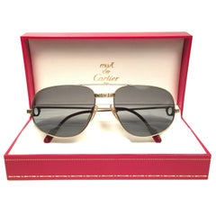 Cartier Vintage Romance Santos 61mm Titanium France Sunglasses