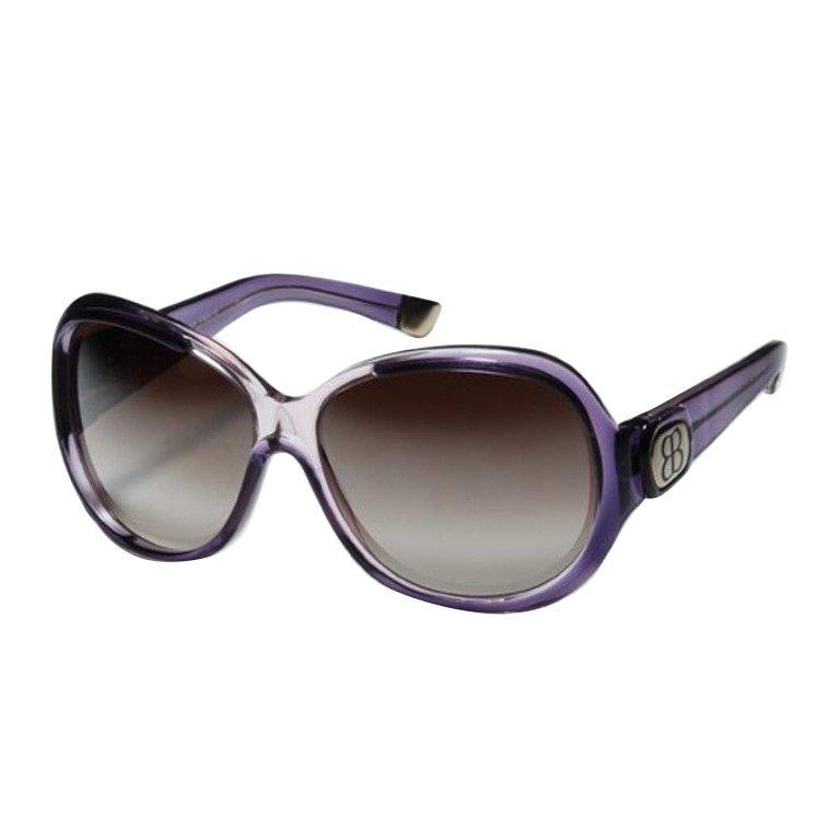 Balenciaga Purple Reflective Sunglasses