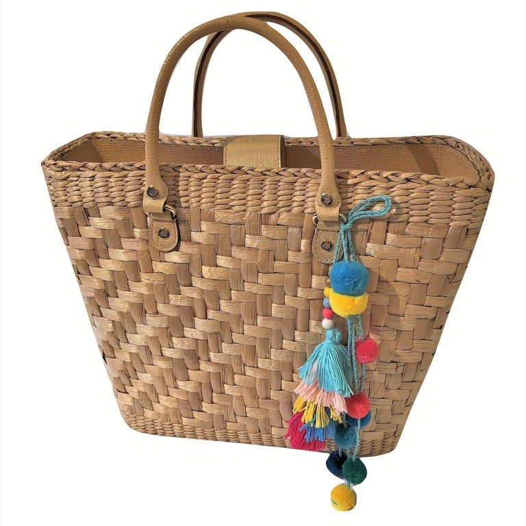New Spring 2005 Collection Kate Spade Large Wicker Tote