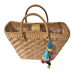 New Kate Spade Large Wicker Tote Her Spring 2005 Collection