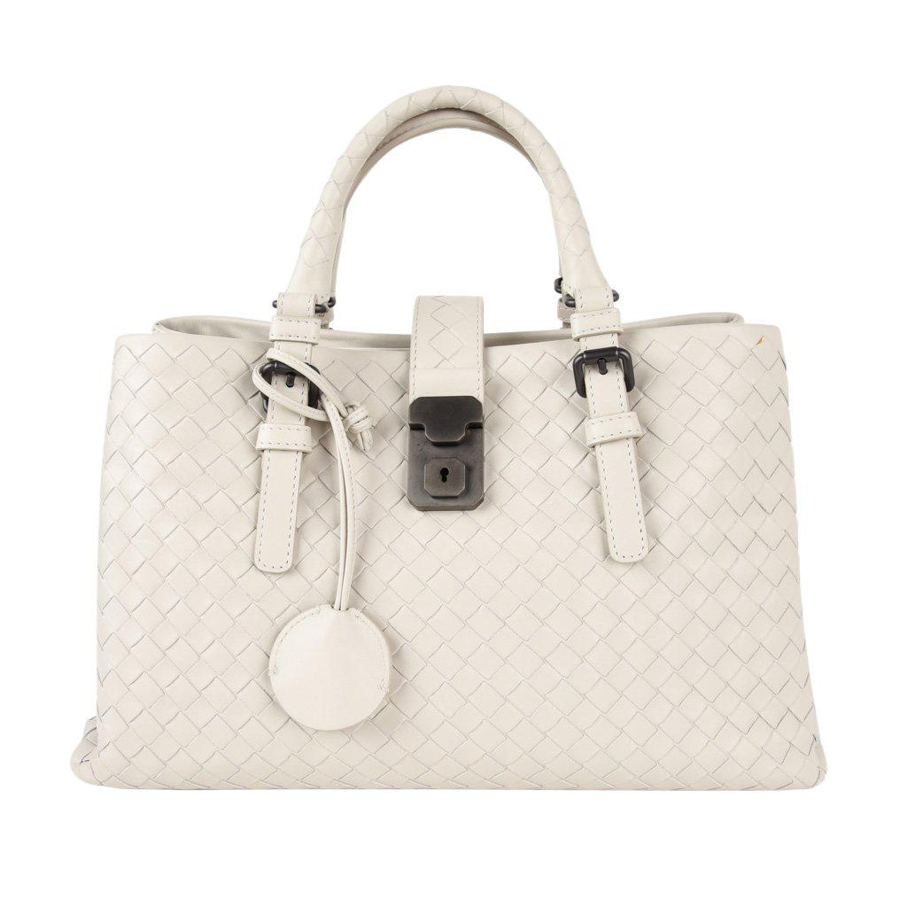 89180fece9 Bottega Veneta Beige Crocodile Handbag For Sale at 1stdibs