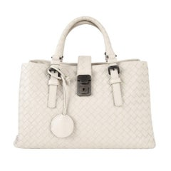 Bottega Veneta Intrecciato Bag Small Roma Leather Tote Detachable Shoulder Strap