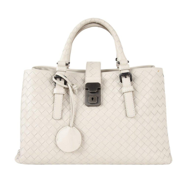 8e9e1c5b3b Bottega Veneta Intrecciato Bag Small Roma Leather Tote Detachable Shoulder  Strap For Sale