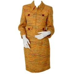 Valentino Vintage Boucle Jacket and Skirt