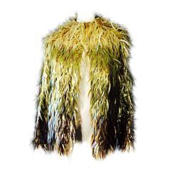 Stella McCartney For Chloe Faux Fur Jacket Runway Fall 2000