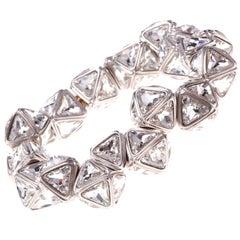 Simon Harrison Ice Flow Crystal Pyramid Bracelet