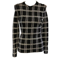 Proenza Schouler Checked Print Top (S)