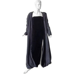 Jean Paul Gaultier 2 in 1 Entrance Gown + Reversible Evening Coat  New!
