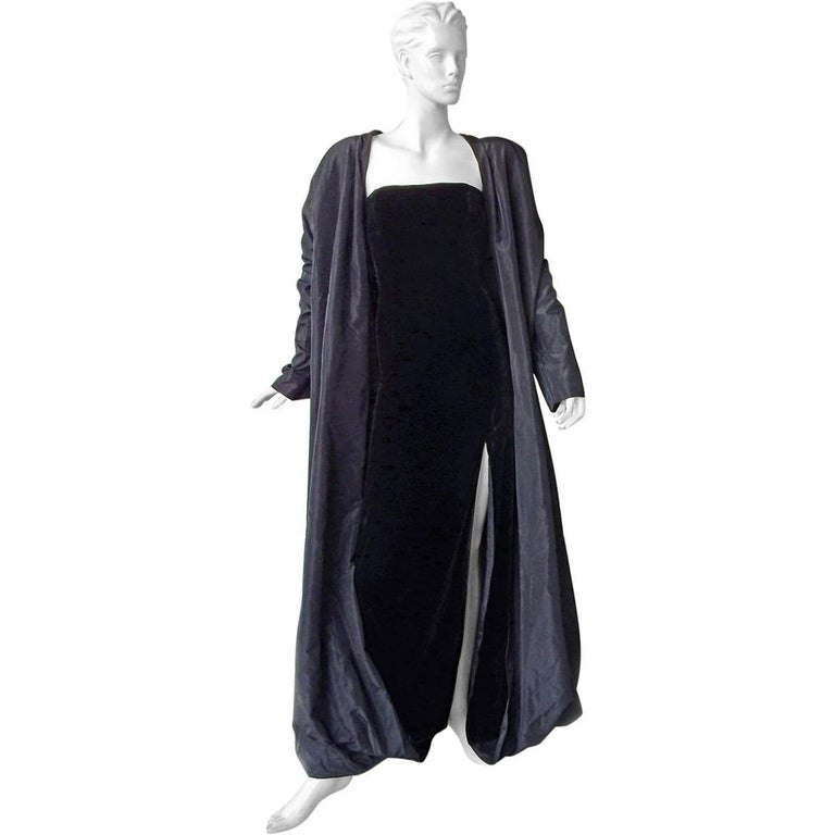 Jean Paul Gaultier 2 in 1 Entrance Gown + Reversible Evening Coat  New! For Sale