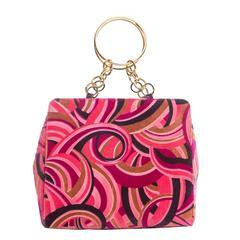 Versace Velveteen Handbag, Circa 1990's