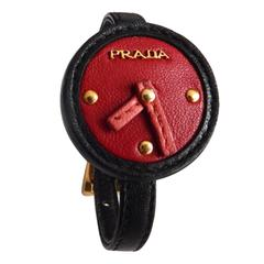 PRADA Leather Fashion Watch/Bracelet