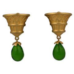 Karl Lagerfeld Eygptian Revival Earrings