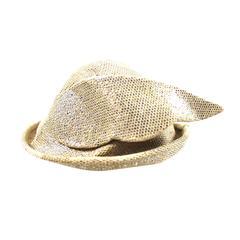 Vintage Early 80s Stephen Jones Hermes/Mercury Winged Hat
