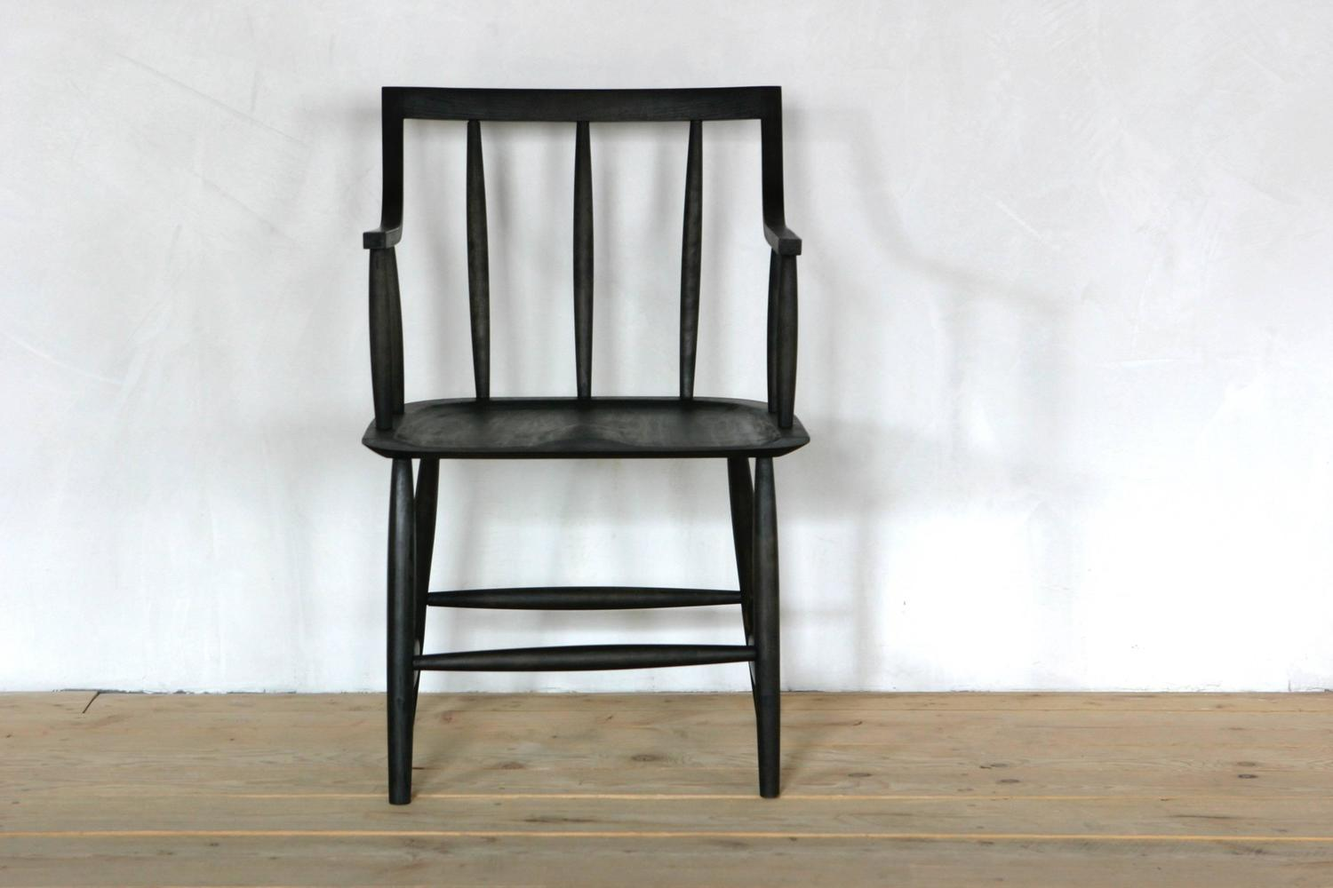 Senate armchair by sawkille customizable in oxidized for Sawkille furniture