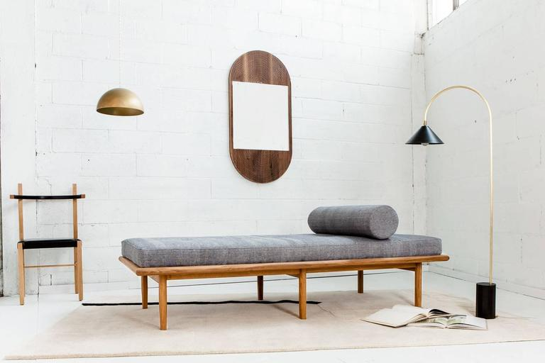 American June Mirror by Coil + Drift in Walnut For Sale