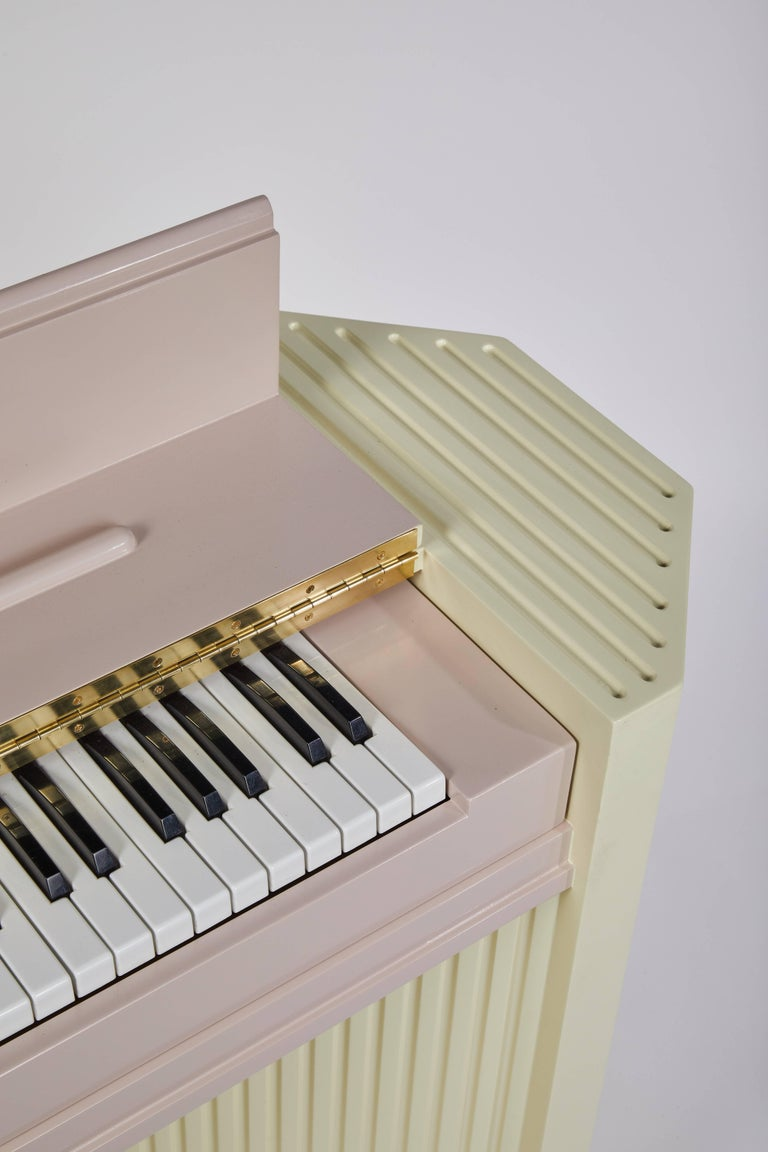 Plywood Marzipan Pianette by Wall for Apricots and Jason Schwartzman, Piano in Maple For Sale
