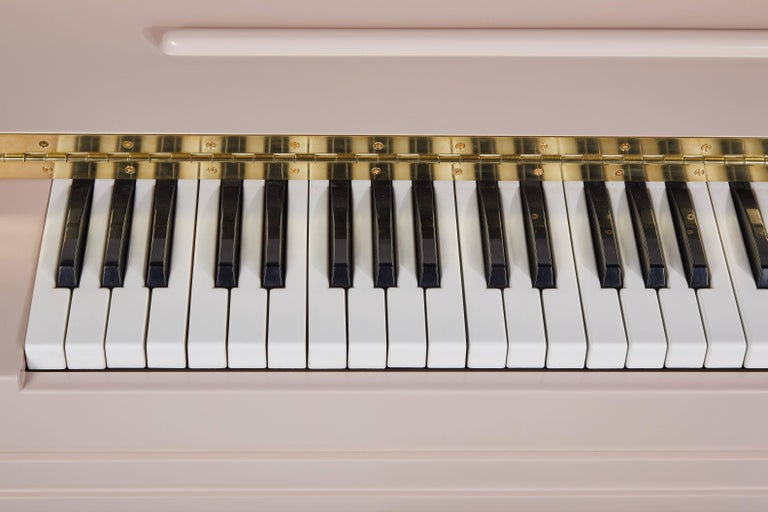 Marzipan Pianette by Wall for Apricots and Jason Schwartzman, Piano in Maple For Sale 1