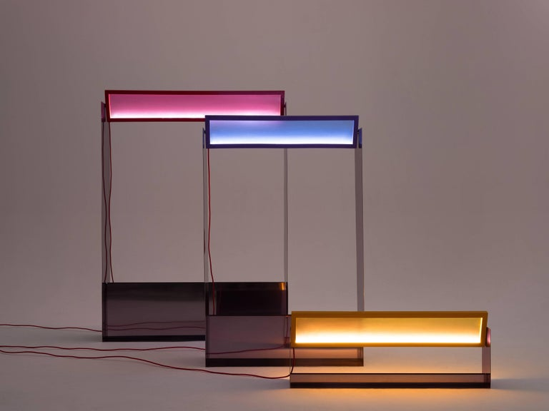 Liquid Collusion Large Light Sculpture by Liam Gillick & Harry Nuriev In New Condition For Sale In New York, NY