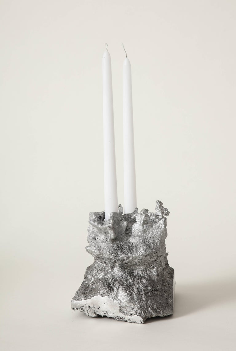 Modern Architecture of Song Heart-Shaped Face Candleholder the Principals & Angel Olsen For Sale