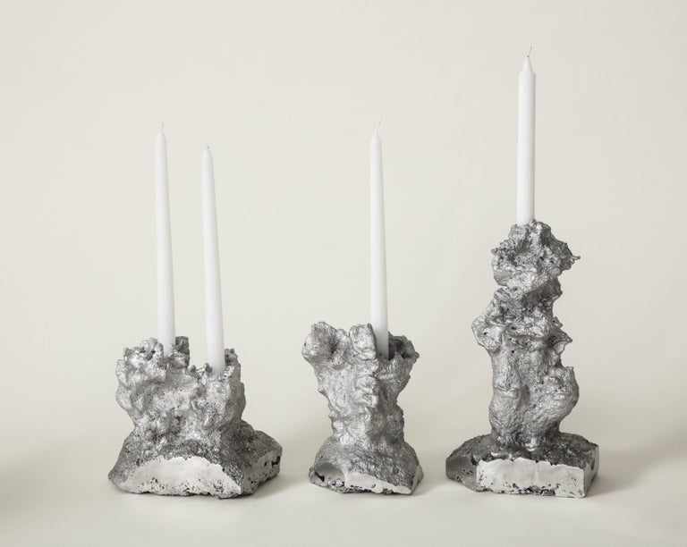 Architecture of Song Heart-Shaped Face Candleholder the Principals & Angel Olsen For Sale 2