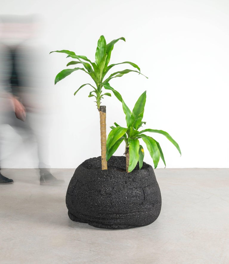 Modern Coal Planters by Fernando Mastrangelo and Boyd Holbrook, Low For Sale