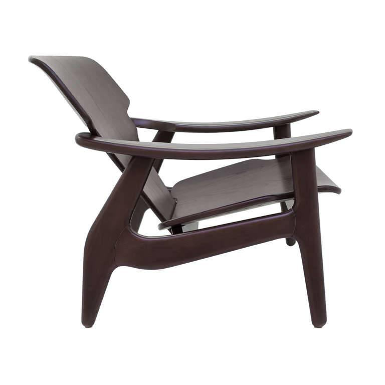 Diz Armchair by Sergio Rodrigues In Excellent Condition For Sale In New York, NY