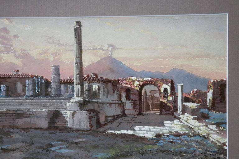 Tempio Di Giove E Foro Civile, Pompeii, 1900 For Sale 4
