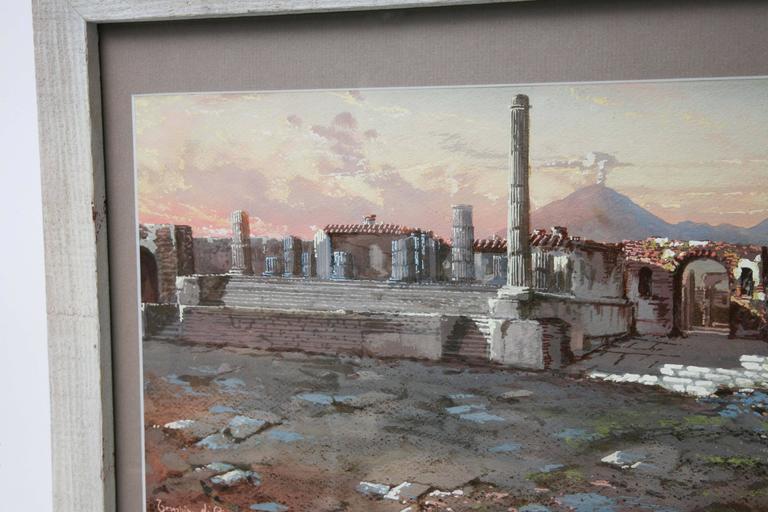 Tempio Di Giove E Foro Civile, Pompeii, 1900 For Sale 5