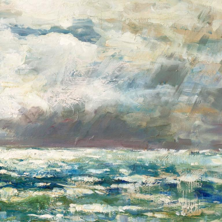 'After the Storm', Charlottenborg Museum, Paris, Danish Post-Impressionist Oil For Sale 1