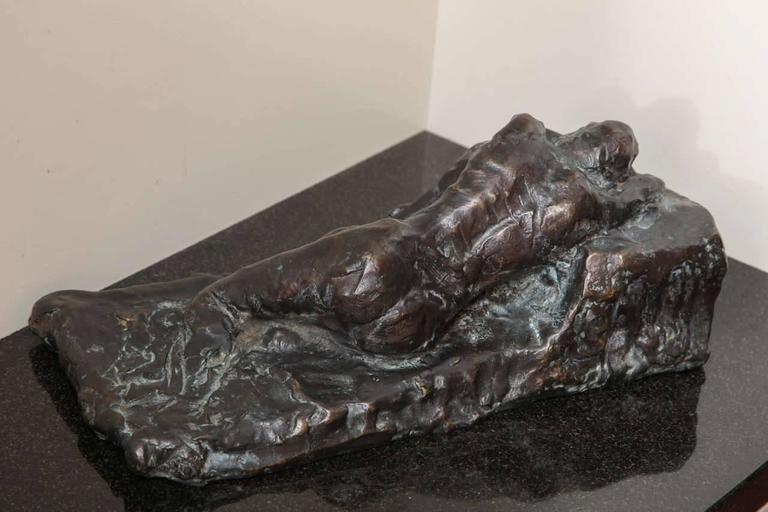 Reclining I Scupture by Gerald Siciliano For Sale 1