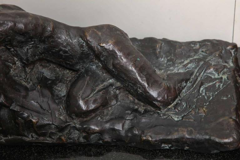 Reclining I Scupture by Gerald Siciliano For Sale 3