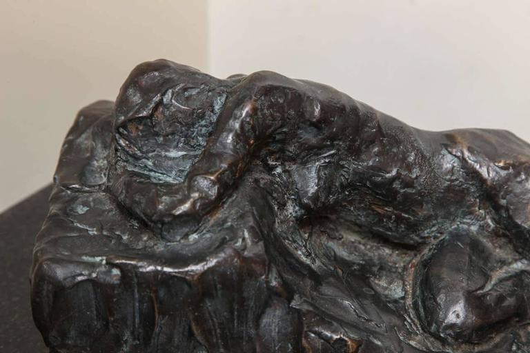 Reclining I Scupture by Gerald Siciliano For Sale 6