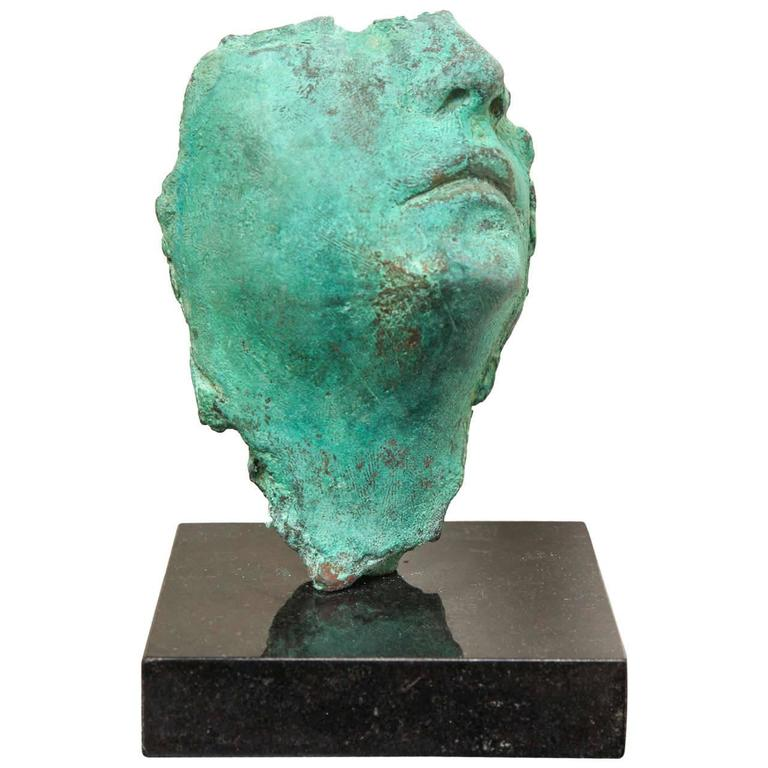 Framento Testa Verde Sculpture by Gerald Siciliano