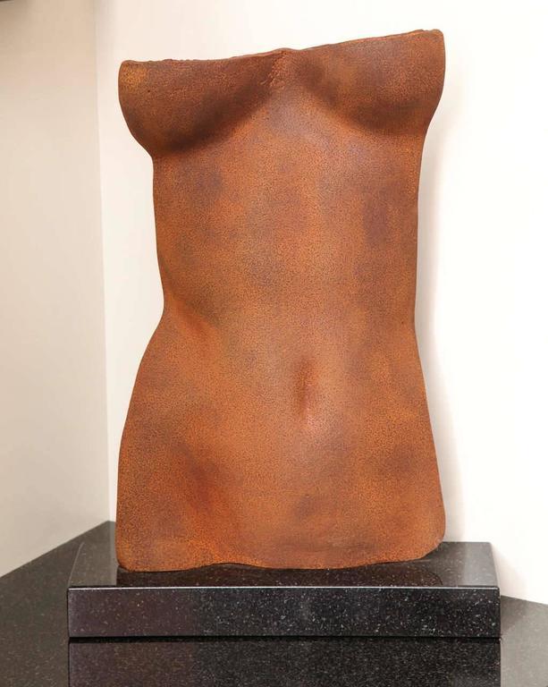 Torso Sculpture by Gerald Siciliano For Sale 8