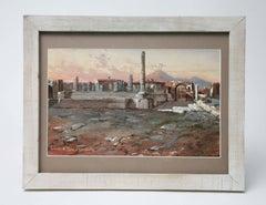 Tempio Di Giove E Foro Civile, Pompeii, 1900
