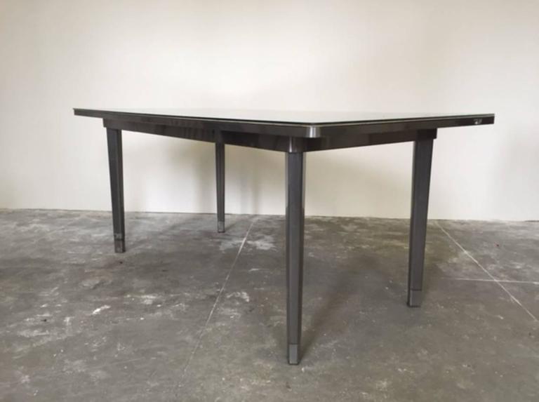 exceptional lot of 11 generalaire industrial steel office desks