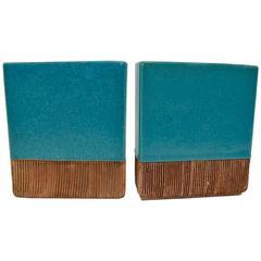 Pair of Barbara Willis Ceramic Vases
