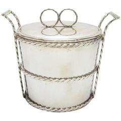 Vintage Circa 1960s Cartier Ice and Champagne Bucket, Italy