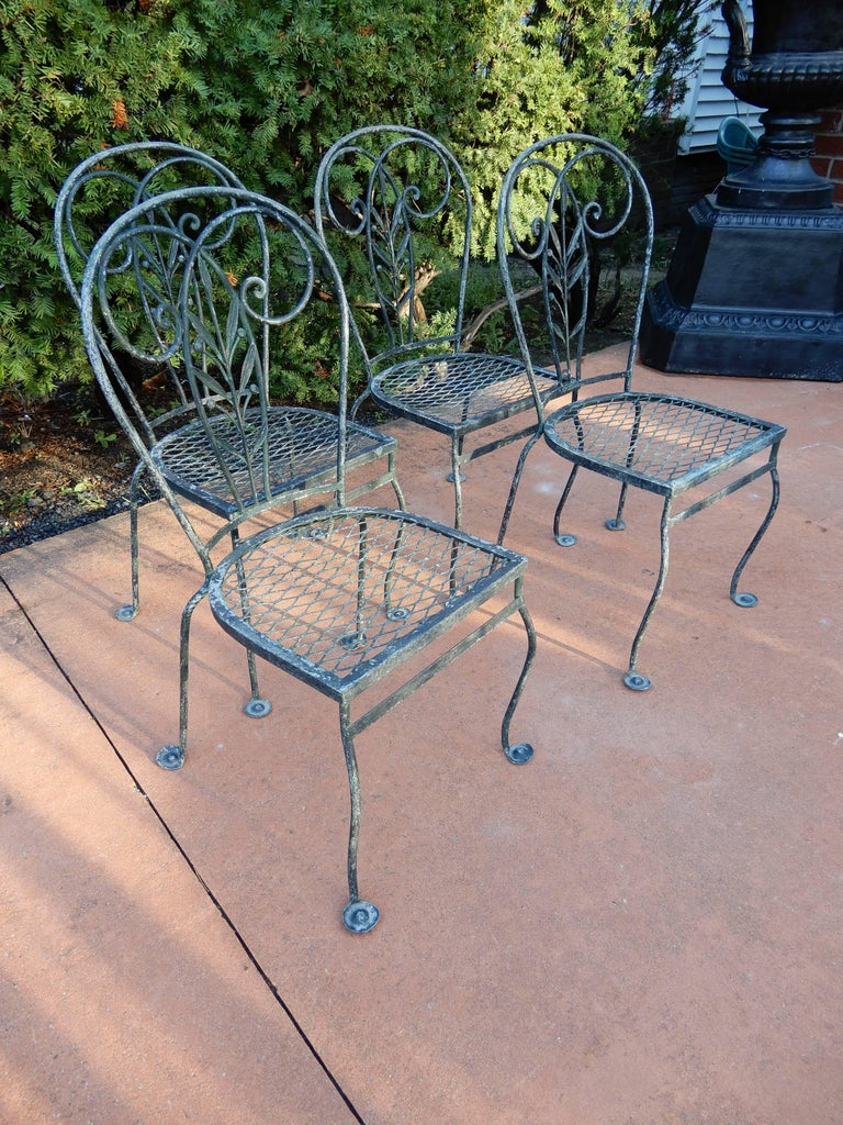 Vintage Salterini Set Of Chairs Four At 1stdibs