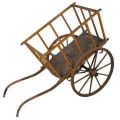 Painted Provençal Wheelbarrow