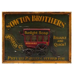 19th Century English Trade Sign