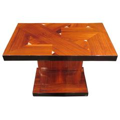 Rosewood Side Table by Majorelle