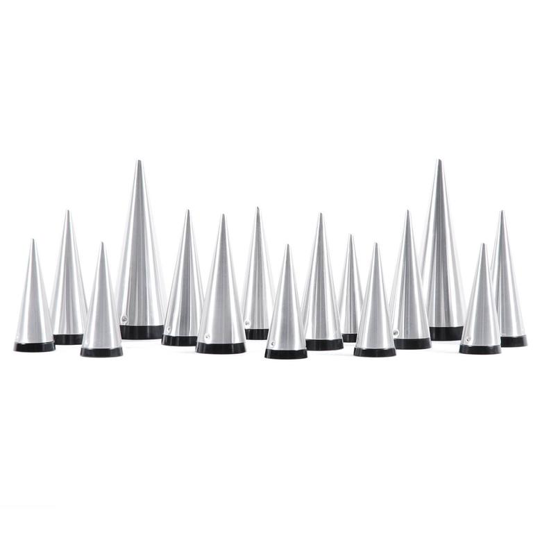 Pierre Forssell Collection of 15 Conical Salt and Pepper Shakers, 1955