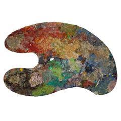 Large Artist's Paint Palette