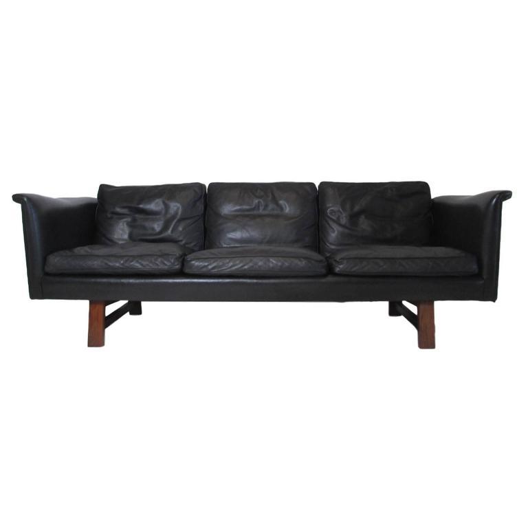 Superbe Danish Midcentury Sofa By Aarhuspol For Sale