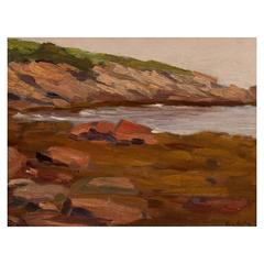 "Painting  Impressionist Oil Painting Seascape ""California Coast"""