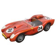 1957 Ferrari Testa Rossa Hand-Carved Model by Paul Jacobsen