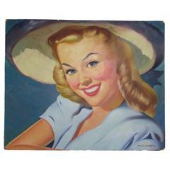 1940s Girl Next Door by Thomas Limborg