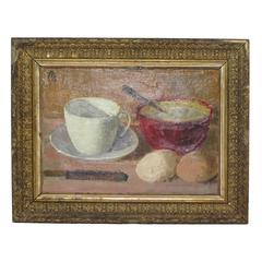 Breakfast Still Life by Albert Elmstedt