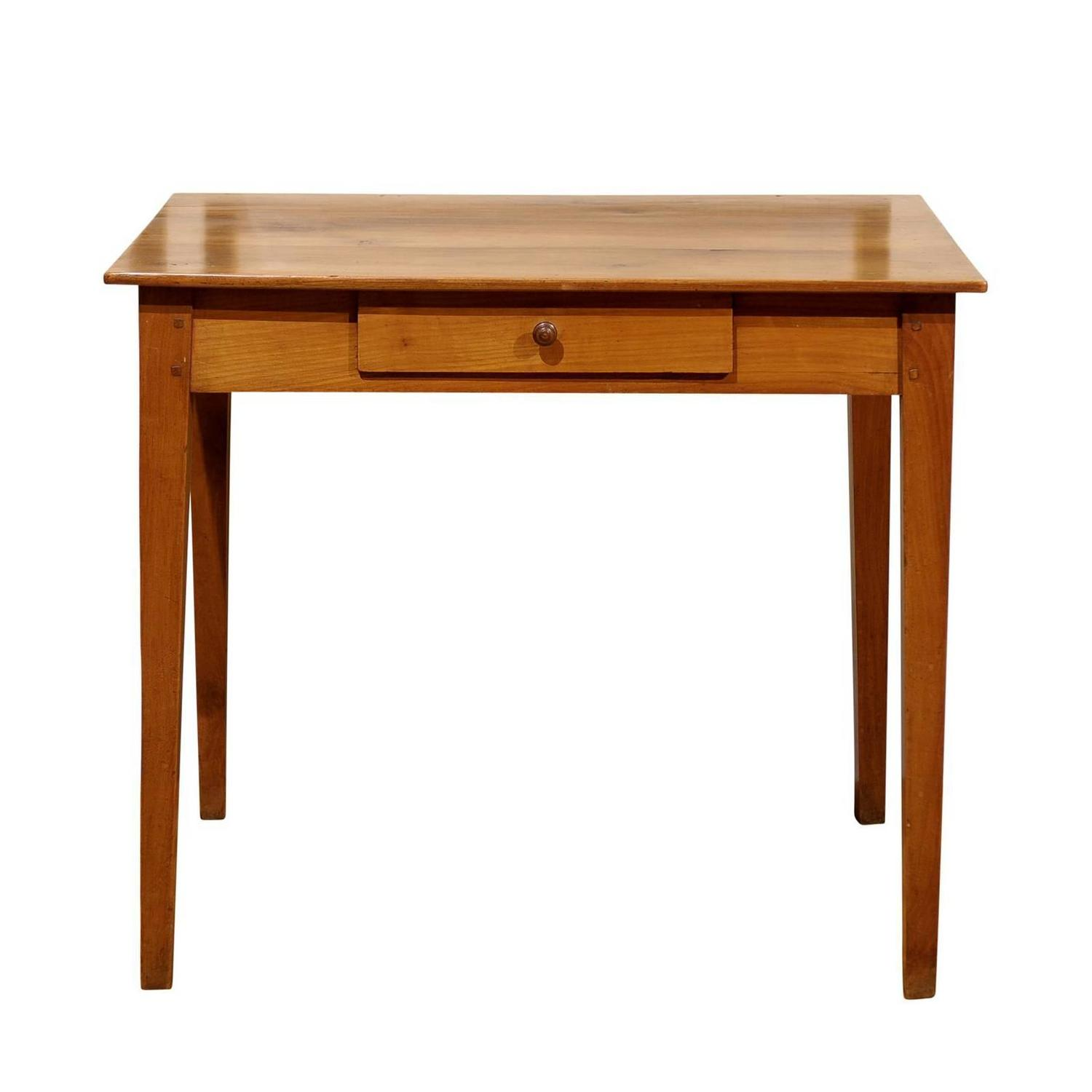French cherry side table with drawer circa 1880 at 1stdibs for Cherry side table